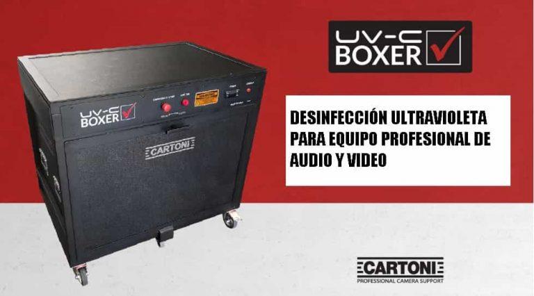 CARTONI UV C BOXER FOTO CORTESIA CARTONI