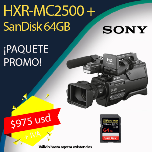 HXR-MC2500 (3-carrusel promociones)