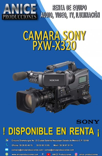 10 FLAYER SONY PXW-320