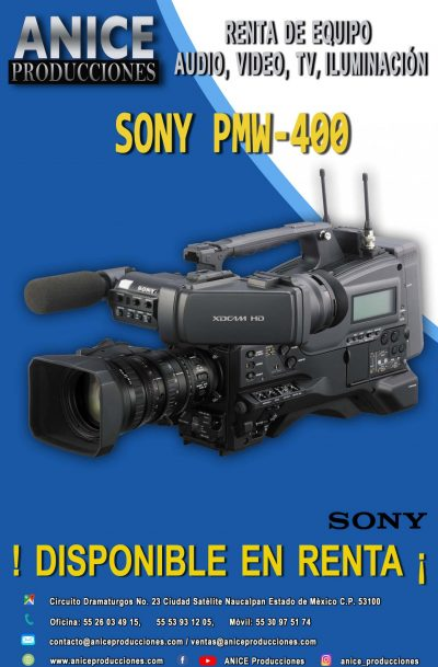 11 FLAYER SONY PMW-400