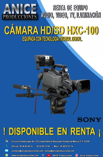 12 FLAYER SONY XHC-100