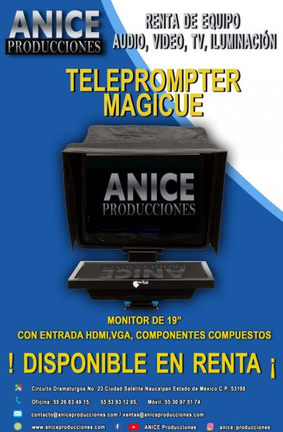 7 FLAYER TELEPROMPTER