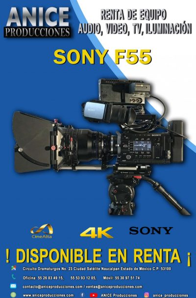 8 FLAYER SONY F55