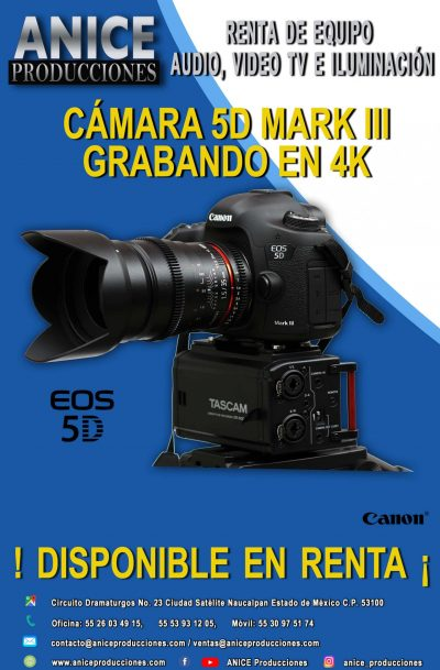 FLAYER CANON 5D